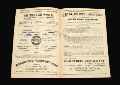 Preston v Man Utd 13.12.1958
