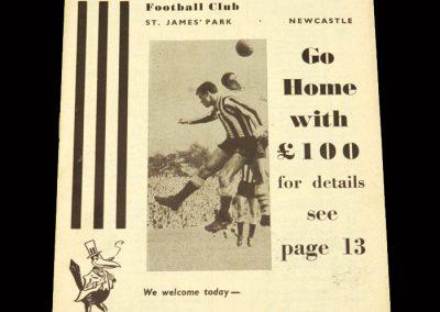 Cardiff v Newcastle 09.11.1963