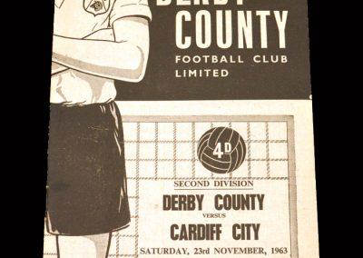 Cardiff v Derby 23.11.1963