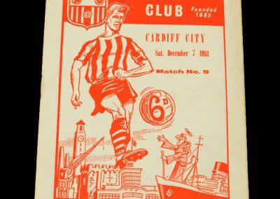 Cardiff v Southampton 07.12.1963