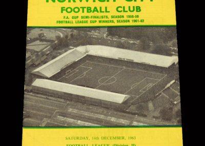 Cardiff v Norwich 14.12.1963