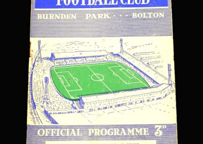 West Brom v Bolton 14.02.1959 FA Cup 5th Round