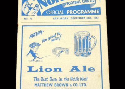 Cardiff v Preston 28.12.1963