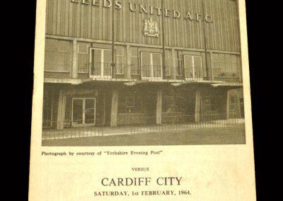 Cardiff v Leeds 01.02.1964
