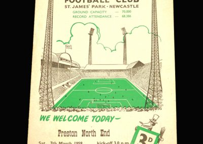 Preston v Newcastle 07.03.1959