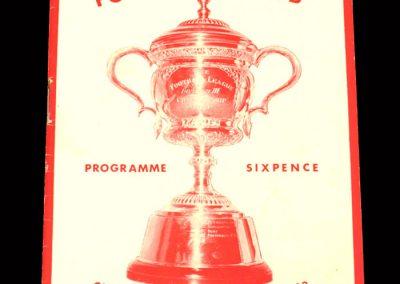Cardiff v Northampton 15.02.1964
