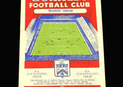 Preston v Burnley 27.03.1959