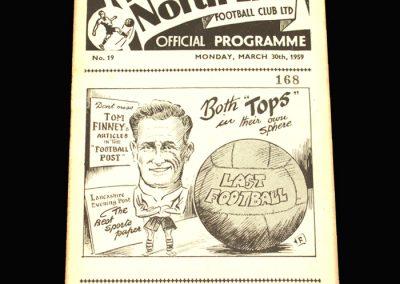 Preston v Burnley 30.03.1959