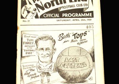 Preston v Spurs 25.04.1959