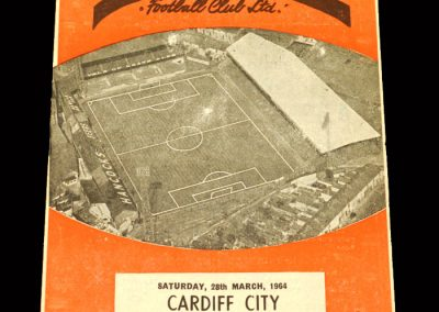 Cardiff v Swansea 28.03.1964