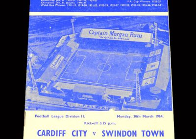 Cardiff v Swindon 30.03.1964