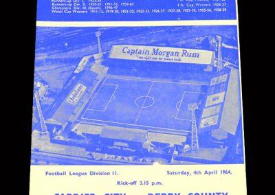 Cardiff v Derby 04.04.1964