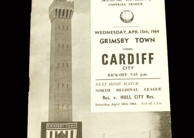 Cardiff v Grimsby 15.04.1964