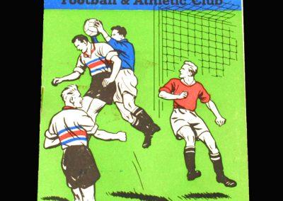 Crystal Palace v Southport 28.09.1960