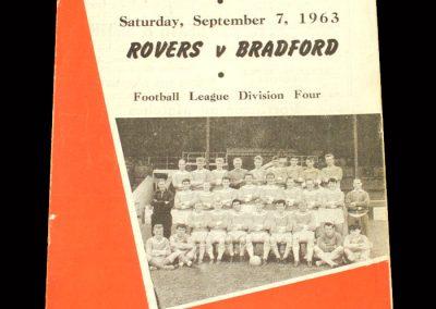 Bradford PA v Doncaster 07.09.1963