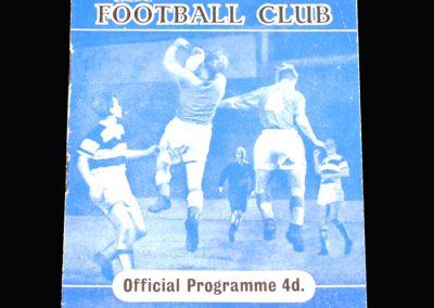 Reading v Walsall 22.10.1960