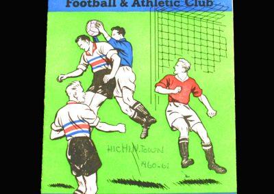 Crystal Palace v Hitchin 05.11.1960