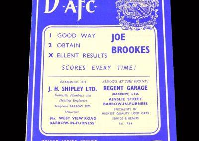 Bradford PA v Barrow 05.10.1963