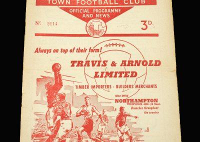Northampton v Mansfield 10.12.1960