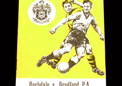 Bradford PA v Rochdale 30.10.1963