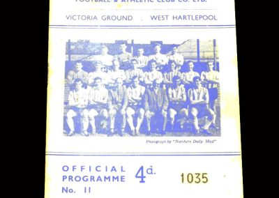Bradford PA v Hartlepool 30.11.1963