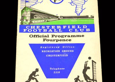 Bradford PA v Chesterfield 21.12.1963