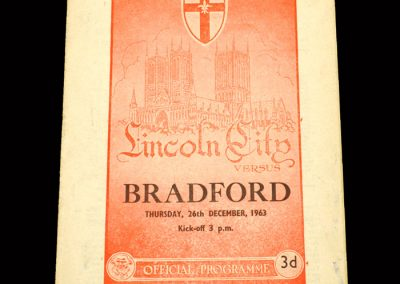 Bradford PA v Lincoln 26.12.1963