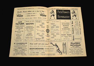 Luton v Man City 01.02.1961 FA Cup 4th Round