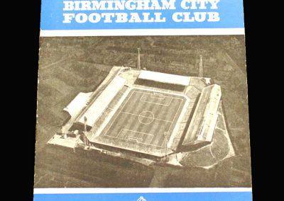 Birmingham v Burnley 04.02.1961