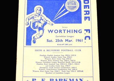 Erith v Worthing 25.03.1961