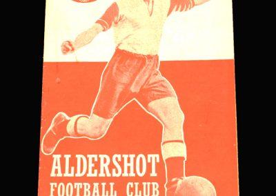 Aldershot v Crystal Palace 25.03.1961
