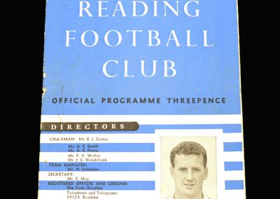 Reading v Plymouth 04.09.1957