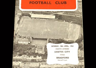 Bradford PA v Exeter 18.04.1964