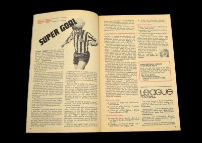 St Johnstone v Newcastle 29.07.1972 - McDonald Claims the Goal Record