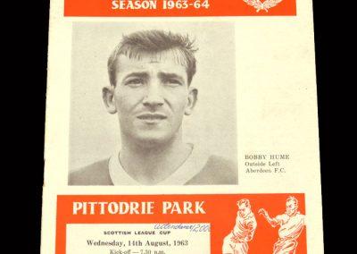 St Mirren v Aberdeen 14.08.1963 - League Cup