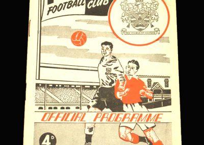 Fulham v Orient 19.10.1957