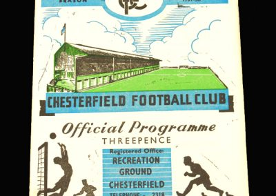 Chesterfield v Hull 09.11.1957