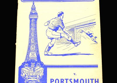 Blackpool v Portsmouth 30.11.1957