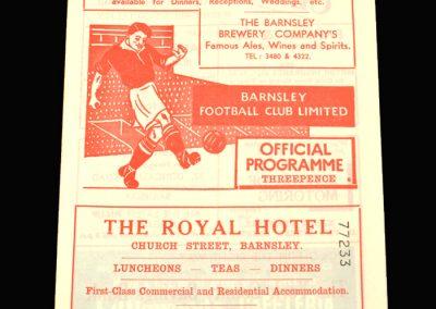 Barnsley v Hull 08.01.1958 (FA Cup 3rd Round)