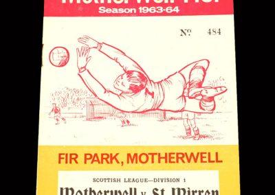 St Mirren v Motherwell 02.01.1964