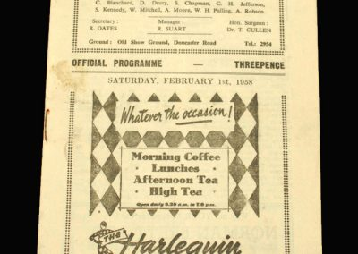 Scunthorpe v Workington 01.02.1958