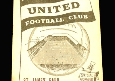 Newcastle v Burnley 08.02.1958