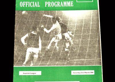 St Mirren v Hibs 21.03.1964