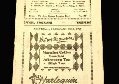 Scunthorpe v Oldham 22.02.1958