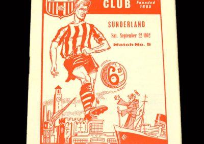 Sunderland v Southampton 22.09.1962