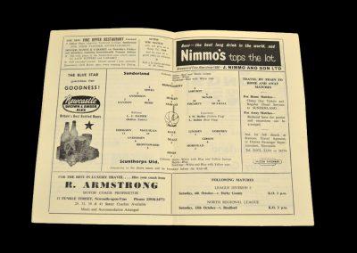 Sunderland v Scunthorpe 29.09.1962