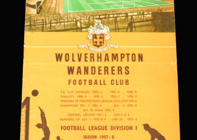 Wolves v Portsmouth 05.04.1958