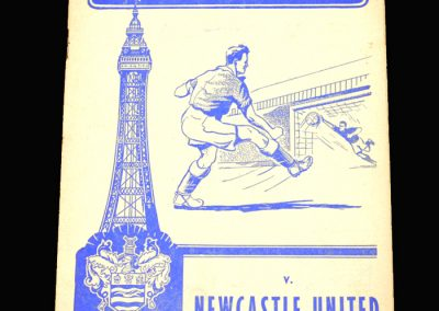 Blackpool v Newcastle 05.04.1958