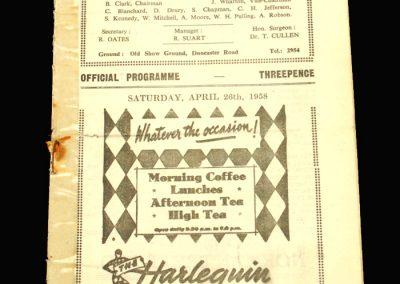 Scunthorpe v Chester 26.04.1958