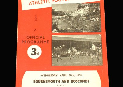 Bournemouth v Port Vale 30.04.1958